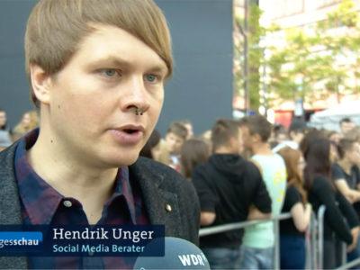 ARD Tagesschau Hendrik Unger